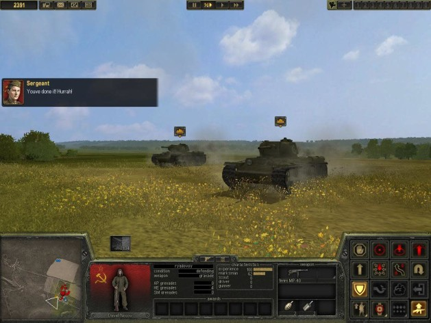 Screenshot 2 - Theatre of War 2: Kursk 1943