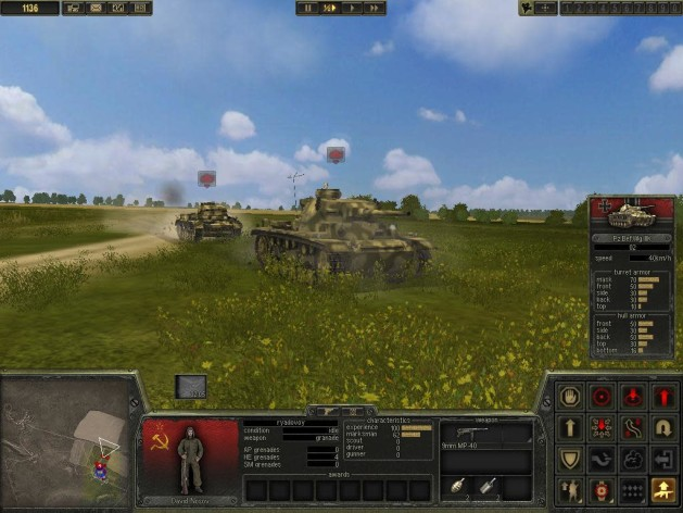 Screenshot 4 - Theatre of War 2: Kursk 1943