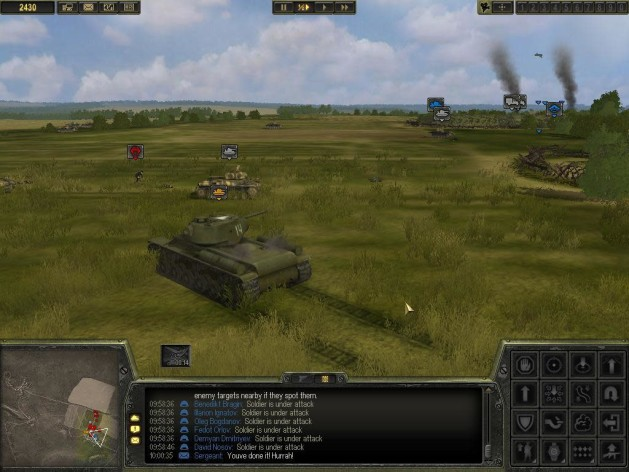 Screenshot 1 - Theatre of War 2: Kursk 1943
