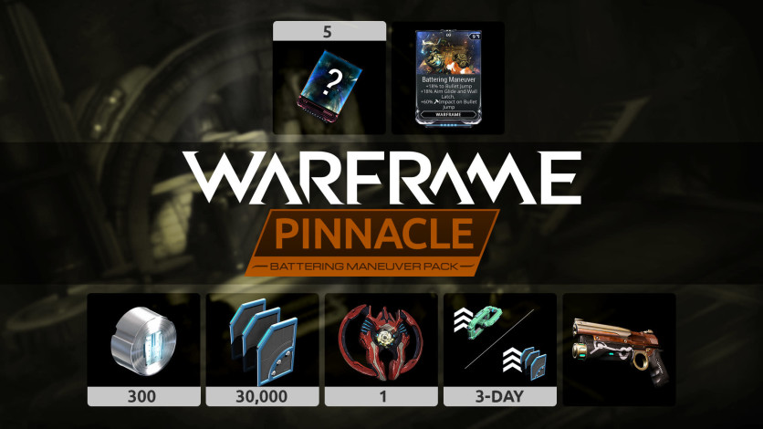 Screenshot 1 - Warframe: Battering Maneuver Pinnacle Pack