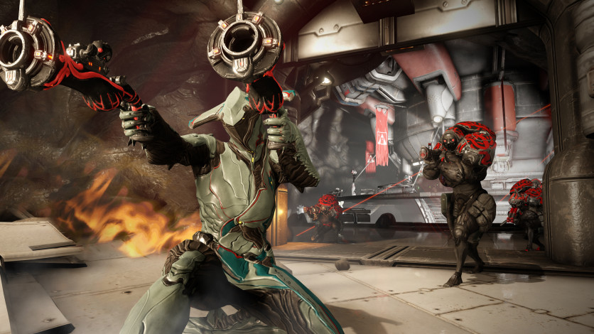 Screenshot 5 - Warframe: Battering Maneuver Pinnacle Pack