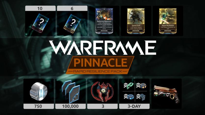 Screenshot 2 - Warframe: Rapid Resilience Pinnacle Pack
