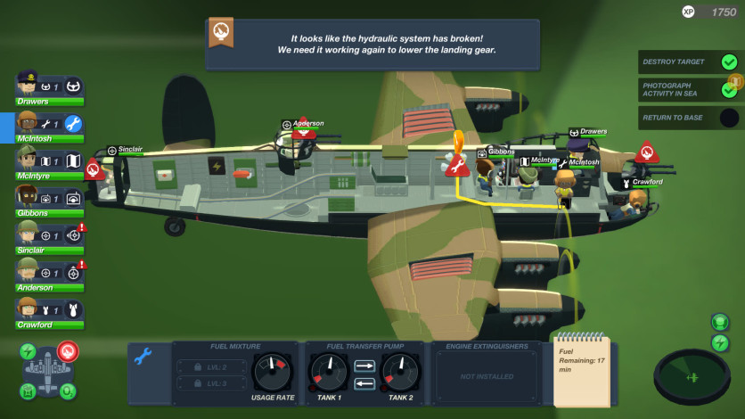 Screenshot 3 - Bomber Crew Deluxe Edition