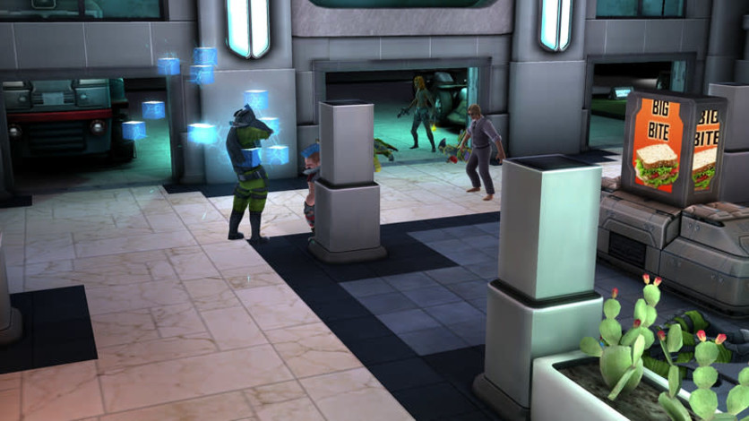 Screenshot 3 - Shadowrun Chronicles: INFECTED Director's Cut