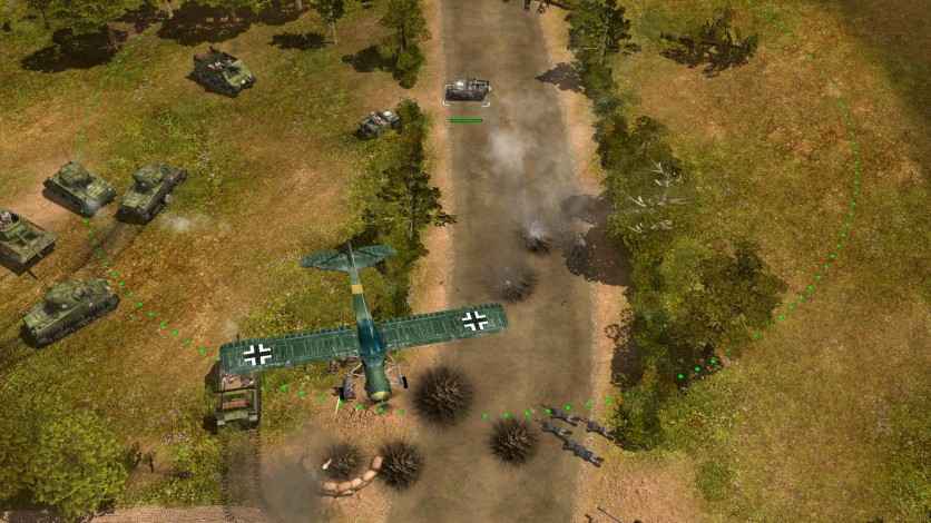 Screenshot 11 - Codename: Panzers, Phase One