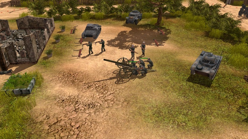 Screenshot 7 - Codename: Panzers, Phase One