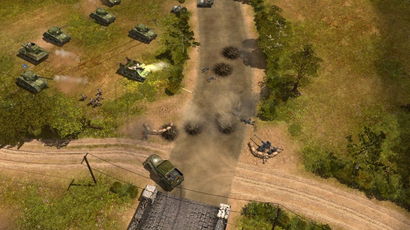 Screenshot 10 - Codename: Panzers, Phase One