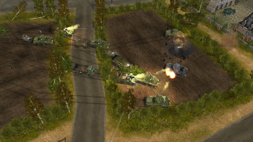 Screenshot 6 - Codename: Panzers, Phase One