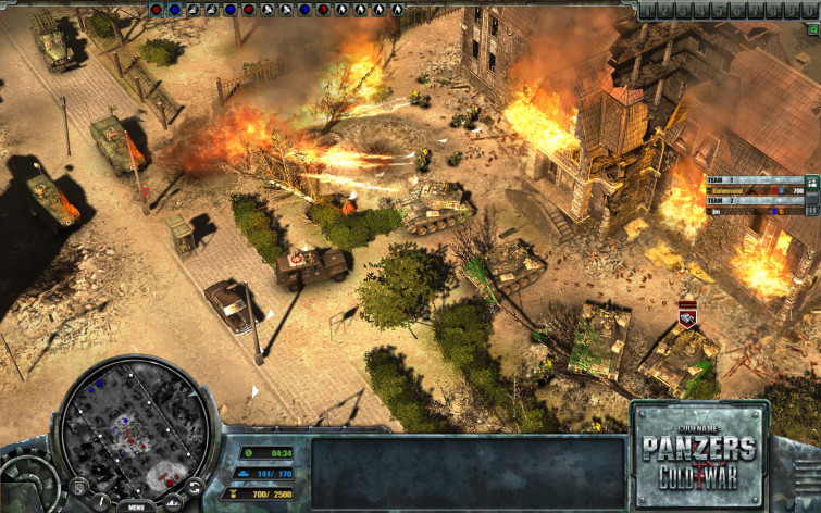 Screenshot 1 - Codename: Panzers - Cold War