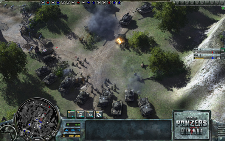 Screenshot 2 - Codename: Panzers - Cold War