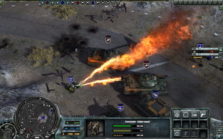 Screenshot 8 - Codename: Panzers - Cold War