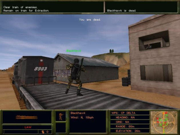 Screenshot 4 - Delta force 2