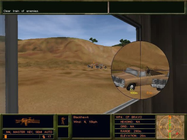 Screenshot 1 - Delta force 2