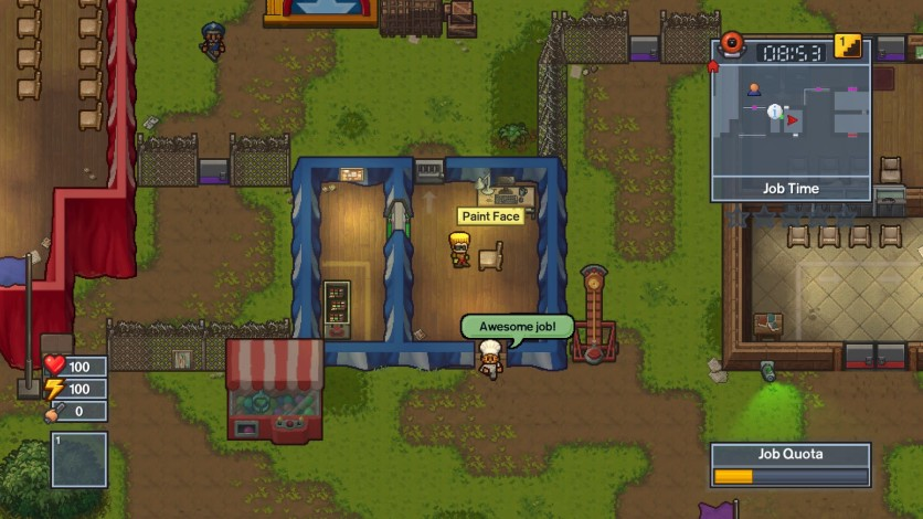 Screenshot 4 - The Escapists 2 - Big Top Breakout