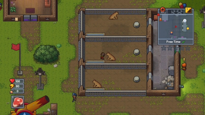 Screenshot 3 - The Escapists 2 - Big Top Breakout
