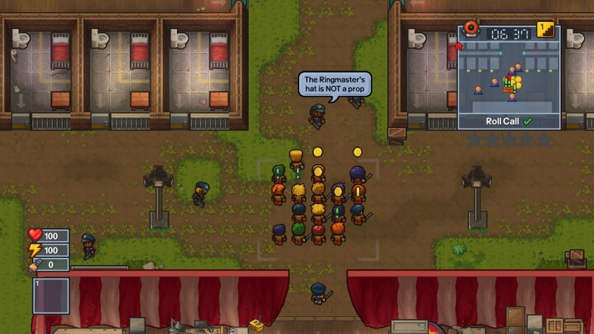Screenshot 5 - The Escapists 2 - Big Top Breakout