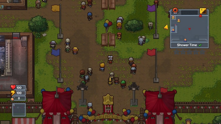 Screenshot 2 - The Escapists 2 - Big Top Breakout