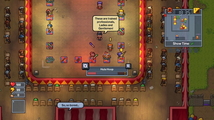 Screenshot 6 - The Escapists 2 - Big Top Breakout