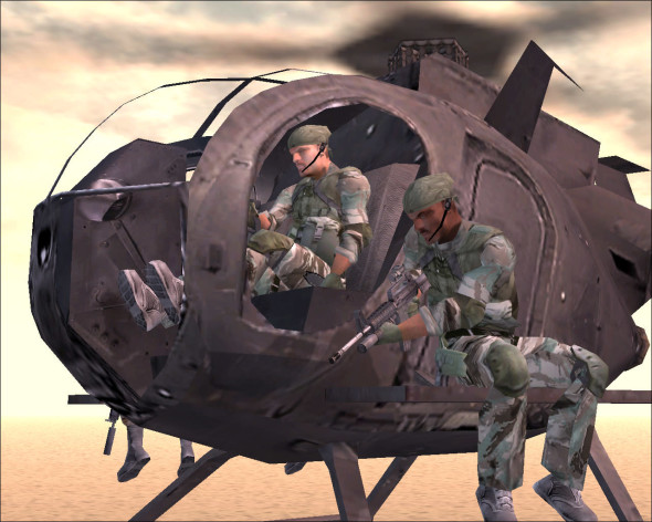 Screenshot 4 - Delta Force: Black Hawk Down - Team Sabre