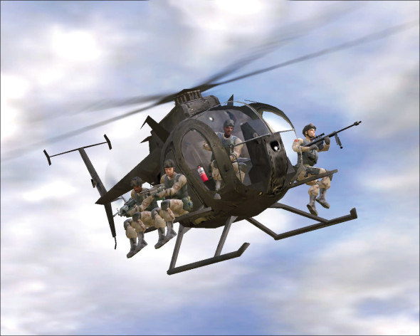 Screenshot 3 - Delta Force: Black Hawk Down - Team Sabre