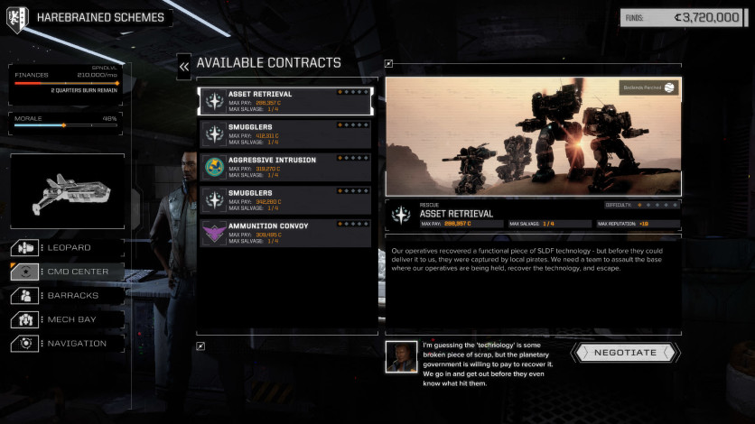 Screenshot 8 - BATTLETECH