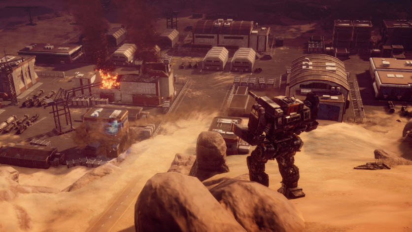 Screenshot 3 - BATTLETECH
