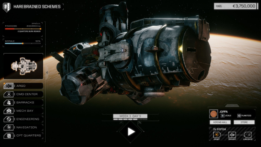 Screenshot 5 - BATTLETECH