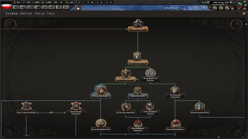Screenshot 5 - Hearts of Iron IV: Waking the Tiger