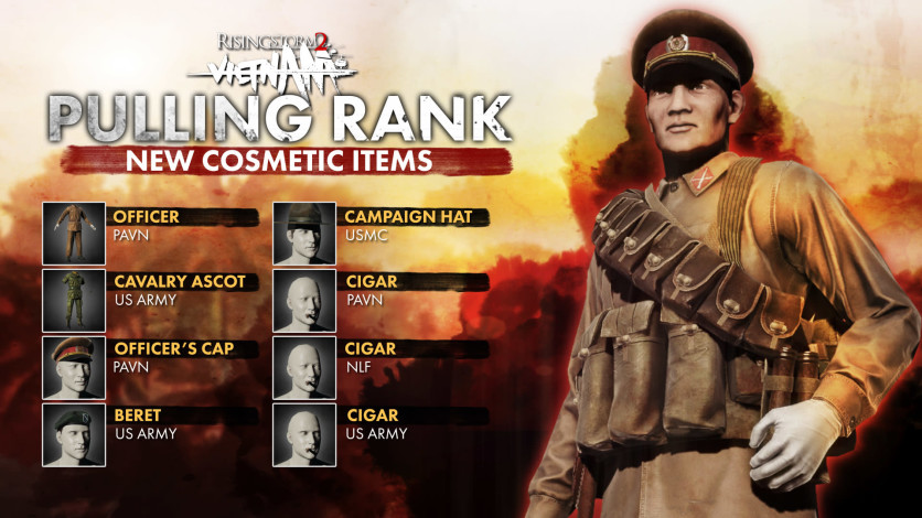Screenshot 1 - Rising Storm 2: Vietnam - Pulling Rank Cosmetic