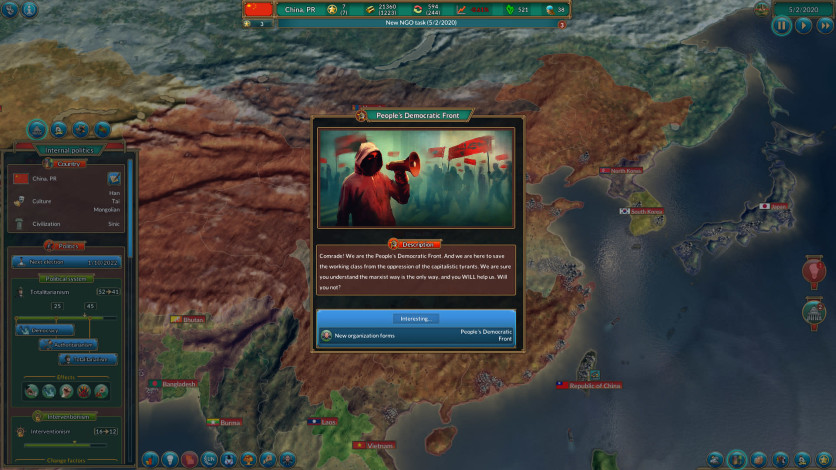Screenshot 10 - Realpolitiks: New Power