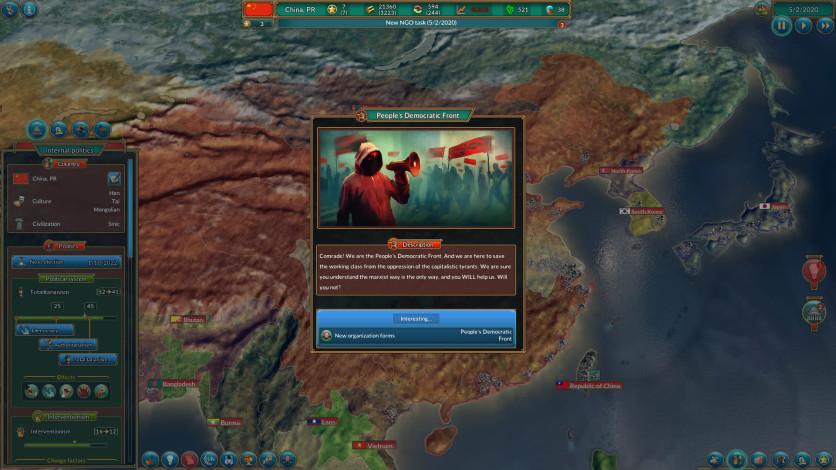Screenshot 10 - Realpolitiks: New Power