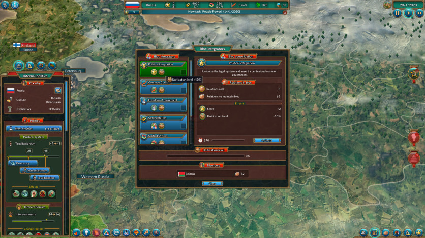 Screenshot 3 - Realpolitiks: New Power
