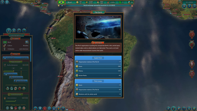 Screenshot 2 - Realpolitiks: New Power