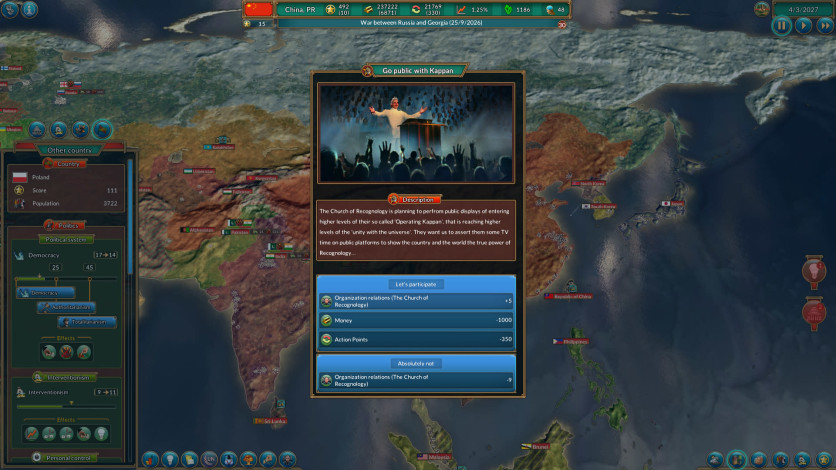 Screenshot 4 - Realpolitiks: New Power