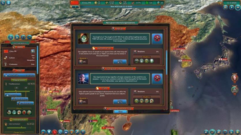 Screenshot 9 - Realpolitiks: New Power