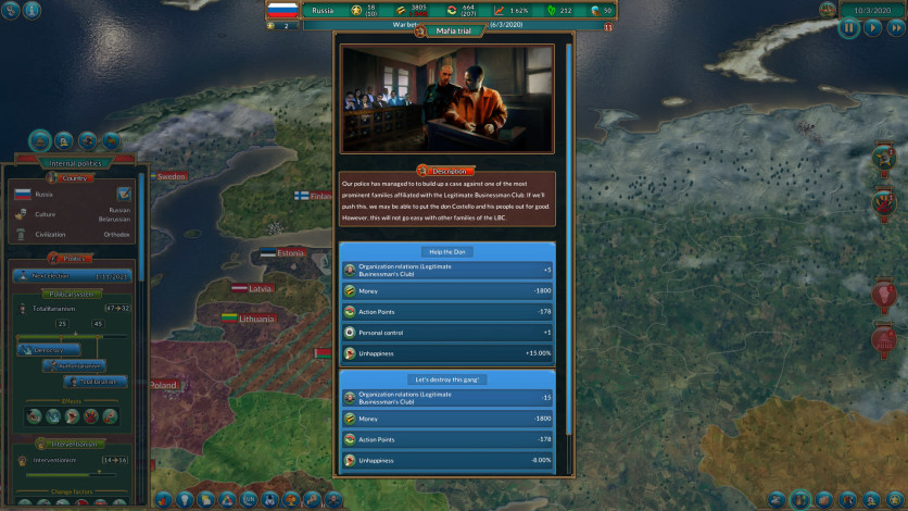 Screenshot 5 - Realpolitiks: New Power