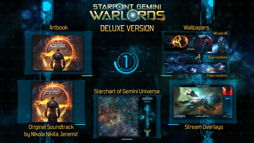 Screenshot 1 - Starpoint Gemini Warlords - Upgrade to Digital Deluxe