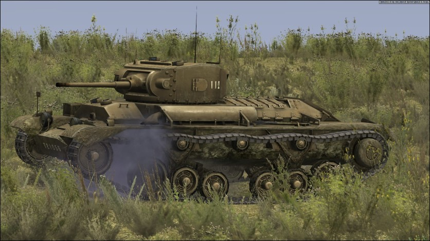 Screenshot 1 - Tank Warfare: Operation Pugilist