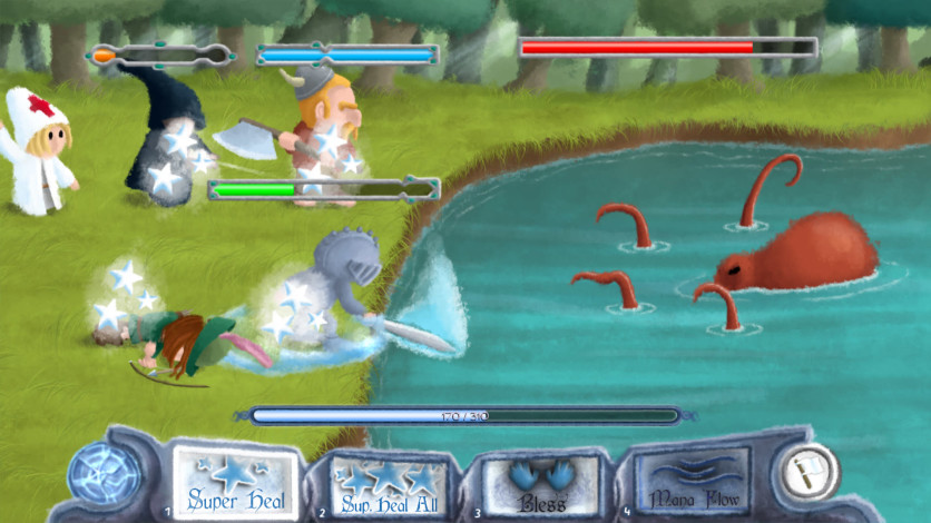 Screenshot 2 - Healer's Quest