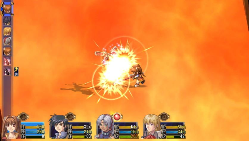 Screenshot 3 - The Legend of Heroes: Trails in The Sky