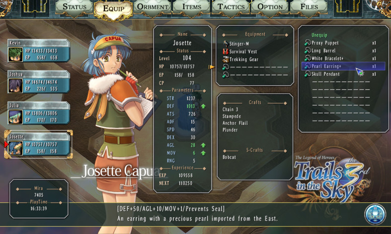 Screenshot 11 - The Legend of Heroes: Trails in the Sky the 3rd