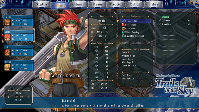 Screenshot 11 - The Legend of Heroes: Trails in the Sky SC