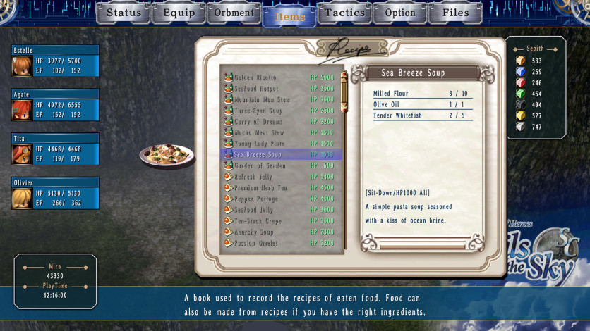 Screenshot 6 - The Legend of Heroes: Trails in the Sky SC