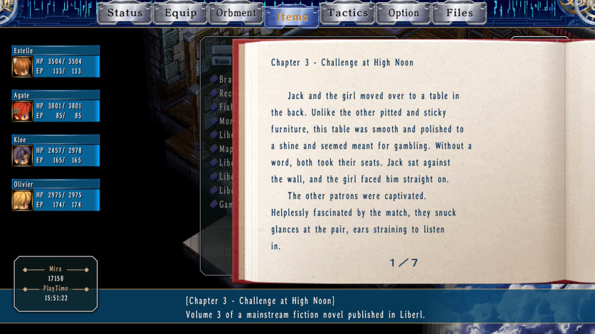 Screenshot 3 - The Legend of Heroes: Trails in the Sky SC
