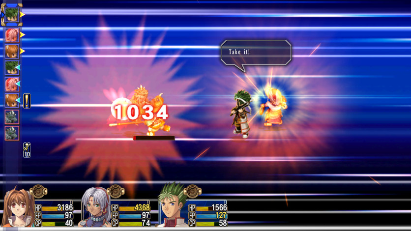 Screenshot 2 - The Legend of Heroes: Trails in the Sky SC