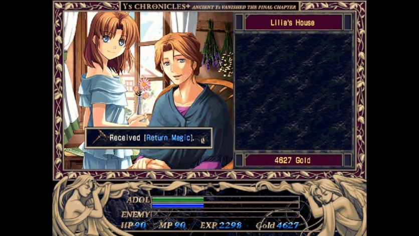 Screenshot 13 - Ys I & II Chronicles+