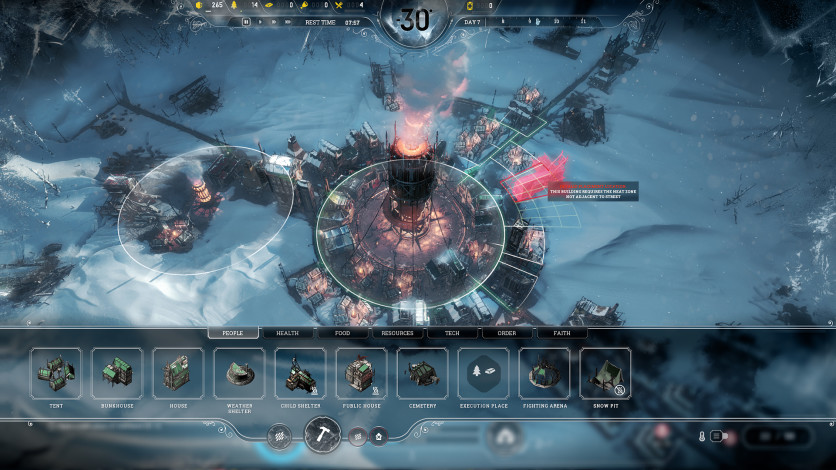 Screenshot 8 - Frostpunk