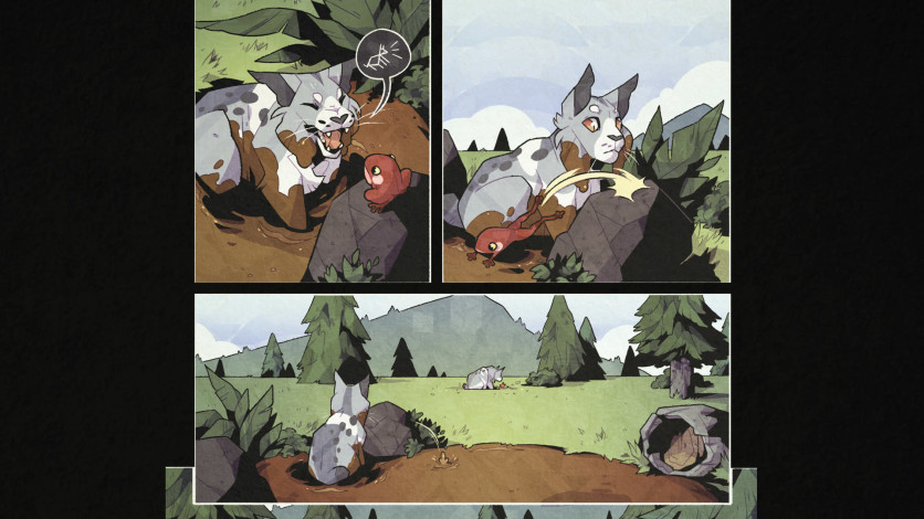 Screenshot 2 - Blossom: A Meadow Comic Book