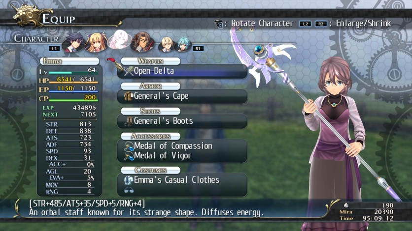 Screenshot 7 - The Legend of Heroes: Trails of Cold Steel - Class VII Casuals Set