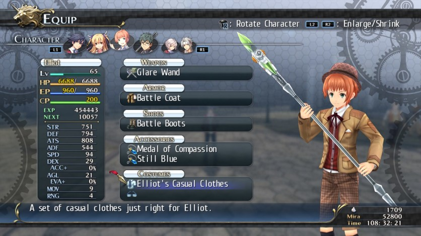 Screenshot 4 - The Legend of Heroes: Trails of Cold Steel - Class VII Casuals Set